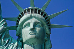 Statue of Liberty, NYC. View of Statue of Liberty in New York City, NY royalty free stock photography