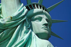 Statue of Liberty, NYC. View of Statue of Liberty in New York City, NY Royalty Free Stock Photos