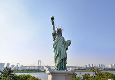 Statue of Liberty in Odaiba, Japan Royalty Free Stock Photo
