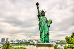 Statue of liberty in Odaiba Park, Tokyo Royalty Free Stock Photos