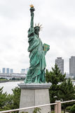 Statue of liberty in Odaiba, Tokyo. Statue of liberty in Odaiba in Tokyo, Japan Royalty Free Stock Photo