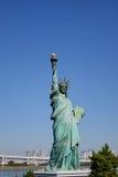 Statue of liberty in Odaiba, Tokyo Stock Photos