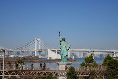Statue of liberty in Odaiba, Tokyo Royalty Free Stock Image