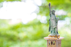 Statue of Liberty paper model Royalty Free Stock Images