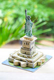 Statue of Liberty paper model Royalty Free Stock Photo