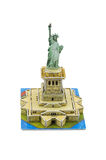 Statue of Liberty paper model Stock Photography