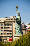 Statue of Liberty in Paris Royalty Free Stock Photography