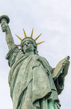 Statue of Liberty in Paris. Bottom-Up view from street Royalty Free Stock Photography