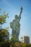 Statue of liberty in Paris city Stock Photography