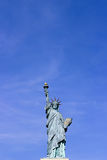 Statue of Liberty in Paris with a clear blue sky Royalty Free Stock Photo