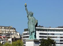 Statue of Liberty (Paris France) Royalty Free Stock Photography