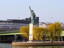 Statue of Liberty in Paris Stock Photography