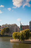 The statue of Liberty in Paris Stock Photo