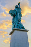 Statue of Liberty Paris Stock Images