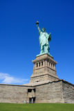 Statue of Liberty on pedestal Royalty Free Stock Photography