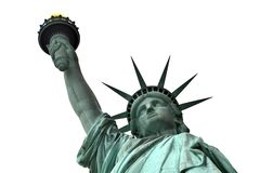 Statue of Liberty 1. Picture of top part of the Statue of Liberty in New York City, USA royalty free stock photo