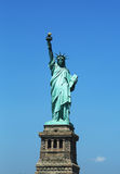 The Statue of Liberty reopens on Independence Day after repairs damages caused by Hurricane Sandy in October 2012 Stock Image