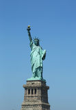 The Statue of Liberty reopens on Independence Day after repairs damages caused by Hurricane Sandy in October 2012 Royalty Free Stock Photography