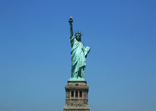 The Statue of Liberty reopens on Independence Day after repairs damages caused by Hurricane Sandy in October 2012 Stock Photo