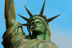 Statue of liberty replica Royalty Free Stock Photo