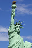 The Statue of Liberty (replica) Stock Photography
