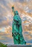 Statue of Liberty Replica near Rainbow Bridge in Odaiba, Tokyo. Statue of Liberty Replica near Rainbow Bridge in Odaiba Tokyo, Japan Royalty Free Stock Images