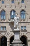 Statue of liberty San Marino Royalty Free Stock Photos