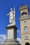 Statue of Liberty in San Marino, Italy Royalty Free Stock Photo