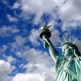 Statue of Liberty scene Stock Images
