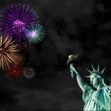Statue of Liberty scene Stock Photos
