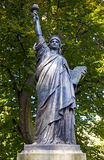 Statue of Liberty Sculpture in Jardin du Luxembourg in Paris Stock Image