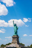 Statue of Liberty. Situated near New York Island.It is the main atraction for the tourists Royalty Free Stock Photography