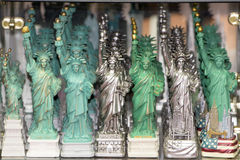 Statue of liberty souvenir shop Royalty Free Stock Photography