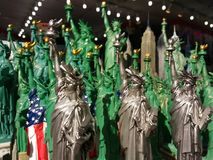 Statue of Liberty Souvenirs, NYC, NY, USA royalty free stock photography