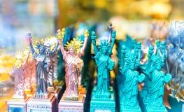 Statue of Liberty souvenirs symbol  USA. Royalty Free Stock Photo