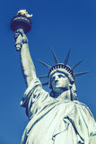 Statue of Liberty, special photographic processing. Stock Photos