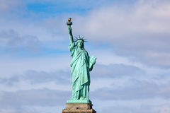 Statue of Liberty on stand Stock Photos