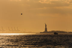 Statue of Liberty. In sunlight Royalty Free Stock Images