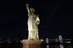 Statue of Liberty in Tokyo Royalty Free Stock Photos