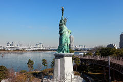 Statue of Liberty at Tokyo of Japan Stock Photo