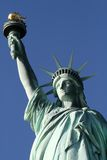 Statue of Liberty Top Half Portrait Stock Image