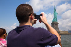 Statue of Liberty Tourism Royalty Free Stock Images