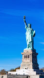 Statue of Liberty under Blue Sky Royalty Free Stock Image