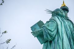 The Statue of Liberty in the United States royalty free stock photo