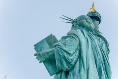 The Statue of Liberty in the United States royalty free stock images