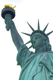 Statue of Liberty (white background) Stock Image