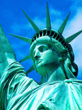 Statue of Liberty2. A close up of the Statue of Liberty Royalty Free Stock Photo
