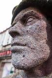 Statue, Lichtspieltheater der Jugend, Frankfurt Oder Royalty Free Stock Images