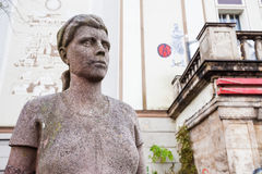 Statue, Lichtspieltheater der Jugend, Frankfurt Oder Stock Photography
