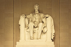 Statue of Abraham Lincoln Stock Image